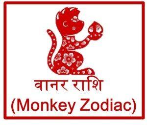 चाइनीज़ वानर राशिफल 2016 Monkey Prediction Horoscope upcharnuskhe